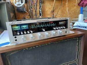 Vintage 1975s Marantz 2250 Stereo Receiver Works Great