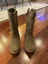 Gap Chocolate Brown Riding Style Boots Toddler Size 6