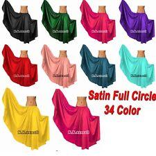 Belly Dance Full Circle Flamenco Dance Wear Jupe GYPSY Skirts Costumes Girls S8