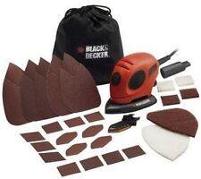 BLACK & DECKER dettaglio mouse elettrici manuali LEVIGATRICE CON ACCESSORI Wood Floor NUOVO