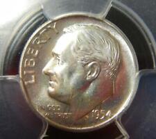 1954 Roosevelt Silver Dime PCGS PR67