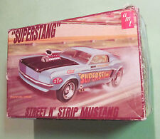 AMT 1969 Superstang Street 'n Strip Ford Mustang Original Kit Empty Box 69 T-241