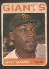 Willie McCovey 1964 Topps Venezuela #350  Rare Venezuelan card *Set Break