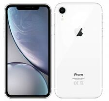 "Apple iPhone XR 4G 6.1"" Smartphone 3GB RAM 64GB Unlocked Sim Free - (White) B+"