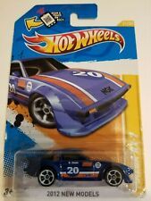 Hot Wheels Mazda RX-7 Blue 2012 New Model New