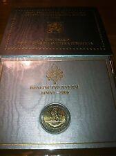 BLISTER 2 EURO VATICAN 2006 500 ANS GARDE SUISSE PONTIFICALE COMMEMORATIVE NEUF