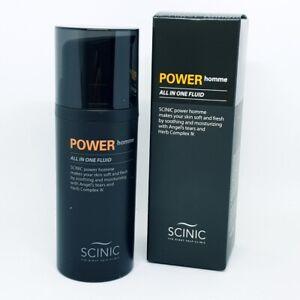 SCINIC Power Homme All in One Fluid 100ml Moisture Toner Lotion Essence K-Beauty