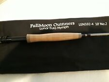 FullMoon Outfitters 10' 2wt 4-pc Euro Nymph Fly Rod + Free Tippet Tenders