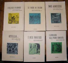 Livrets d'Opéra en Italien - Collection Ricordi