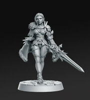 Leanne Ice Queen Empire Cities Sigmar 32mm Fantasy Miniature Warhammer D&D AoS