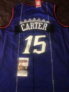 Vince Carter Autographed Signed Toronto Raptors Jersey Jsa