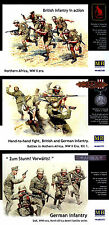 Master Box MB 1/35 WWII German & British infantry fight, Northern Africa (3 Box)
