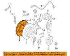 BMW OEM 04-10 X3 Rear Brake-Backing Plate Splash Dust Shield 34211166107