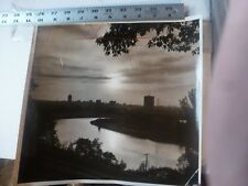 Vintage Photo-Lehigh River & Skyline From Constitution Drive Allentown PA 1960's