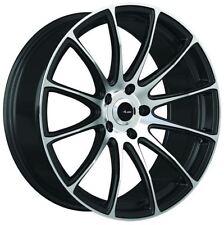 18x8 Advanti Racing Svelto 5x112MM +45 Black/MF Wheels Fits audi a3 tt(MKII) gti