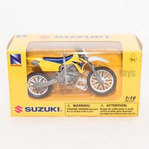 Suzuki RM-Z450 Yellowmotorcycle, NewRay 67003 Scale 1:18, toy bike model
