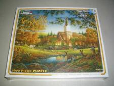 """White Mountain Puzzle 1000 Pieces  Terry Redlin """"Sunday Morning""""  NEW SEALED"""