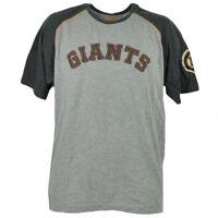MLB San Francisco Giants Gray Tshirt Tee Mens Medium Short Sleeve Crew Neck