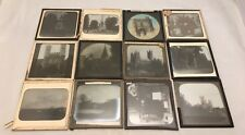 More details for antique magic lantern slides buildings church's statues canterbury and other