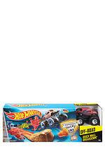 NEW Hot Wheels Monster Jam Brick Wall Breakdown Trackset