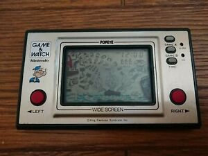 NINTENDO GAME AND & WATCH Popeye 1981 JAPAN