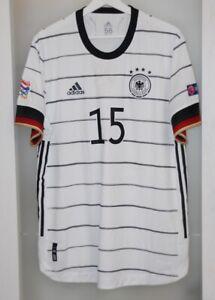 Match worn shirt Germany national team Nations league Bayern Munich unwashed