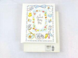 """Vintage Hallmark """"A Special Baby Boy"""" First 3 Years Book/Album c1990's"""