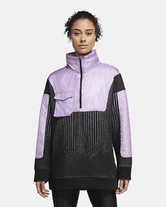 Nike City Ready 1/4 Zip Training Top Women's Size Med CV0303-589 Purple NWT $200