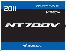 Honda 2011 NT700V (A/CE) Owner Manual 11