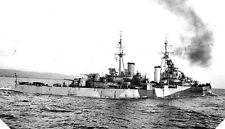 6x4 Gloss Photo wwA8B Normandy Naval Photo HMS Black Prince