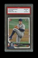 CASEY MIZE 2018 BOWMAN DRAFT #BD1 Topps 1ST GRADED 10 ROOKIE CARD DETROIT TIGERS