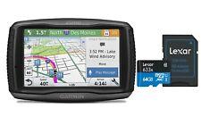 Garmin zumo 595LM Motorcycle GPS Bluetooth Smart Notifications W/Micro SDHC Card
