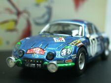 WOW EXTREMELY RARE Alpine Renault A110 1.8L 17 Darniche M.Carlo 1972 1:43 Trofeu