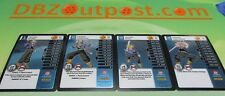 Dragonball Z DBZ TCG Panini Starter Deck Evolution Trunks MP Set Levels 1-4!