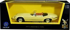 JAGUAR E TYPE 1971 1:43 Model Die Cast Toy Car Models Miniature Yellow