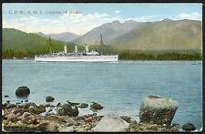 Posted 1920 from Canada View of the R.M.S Empress of Russia