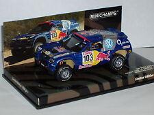 Minichamps 436 055303 Volkswagen Touareg Rally 2005 En Azul 1/43rd Escala