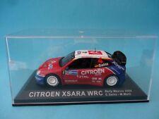 CITROEN XSARA WRC #4 - CARLOS SAINZ - 3º RALLY MÉJICO 2004 1/43 NUEVO IXO ALTAYA