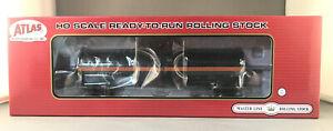 HO Atlas 20005617 ACF 17360 Tank Car ACFX Black W/ Orange Stripe 77347