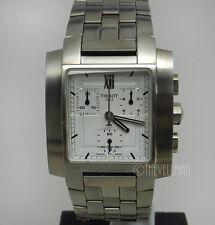 Mens Authentic Swiss Made Tissot Chronograph TXL Rectangular Watch T60158733