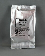 DELL SERIES 7 BLACK DH828  INK CARTRIDGES - GENUINE DELL