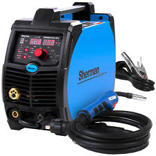 MIG Welder Inverter Gasless Welding Machine Portable SHERMAN DIGIMIG 225GDS