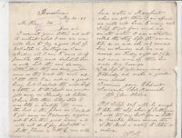 Capt Morwick Barcelona 1889 to Hine Brothers Shipping Update Letter Ref 37013