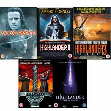 Highlander Complete Movie [5 DVD] Collection Boxset Parts 1 2 3 4 5