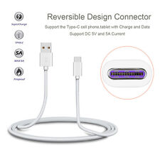 Fast Charge 5V 5A Type-C USB-C to USB 2.0 Data Cable for Huawei Mate 9 & P10