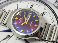 Vintage TECHNOS Technomatic Automatic Gents Watch - RUNNING.