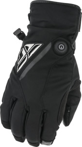 FLY RACING TITLE HEATED GLOVES - BLACK