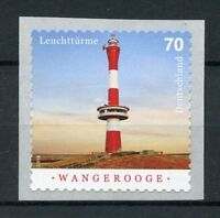 Germany 2018 MNH Wangerooge Lighthouse 1v S/A Lighthouses Architecture Stamps