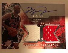 2004 Upper Deck SPX Winning Materials Michael Jordan Autograph Jersey 89/100