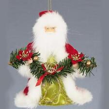 Décorations de sapin Père Noël rouge